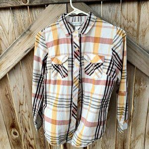 Christopher & Banks button down collared petite m